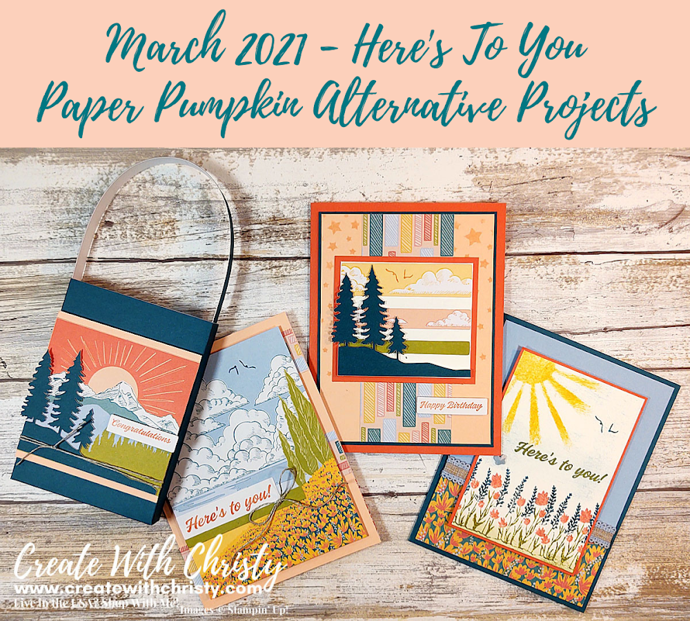 Tomorrow Is the Last Day To Get the April Paper Pumpkin Kit!