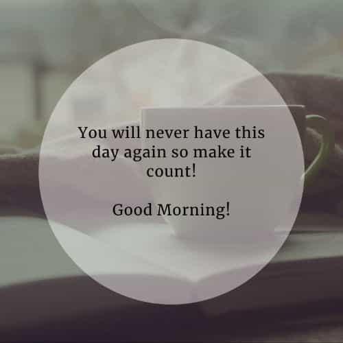 Morgen sms für ihn guten Guten Morgen