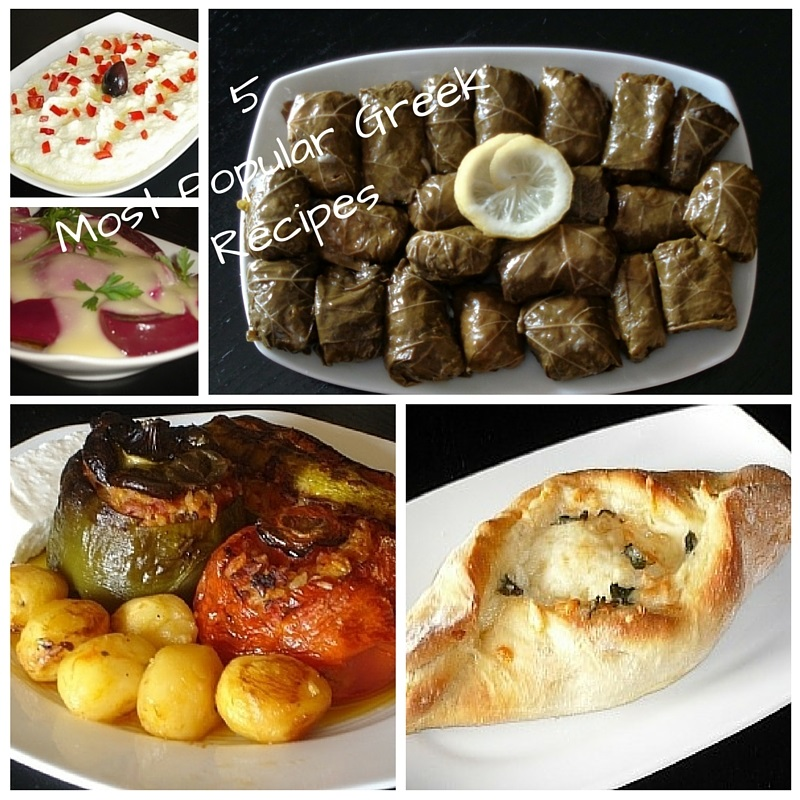 Authentic Greek Recipes 5 Most Popular Greek Recipes May 2016