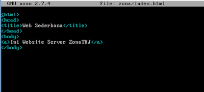 Cara Instalasi dan Setting Web Server Nginx Debian 9 4