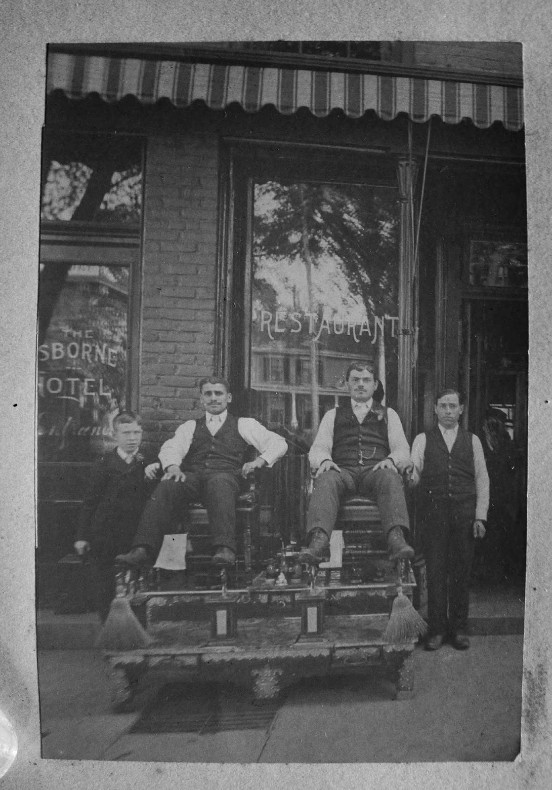Shoe Shine early 20th century