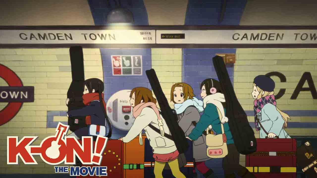 K-ON! The Movie (A Trip to London!) BD Subtitle Indonesia