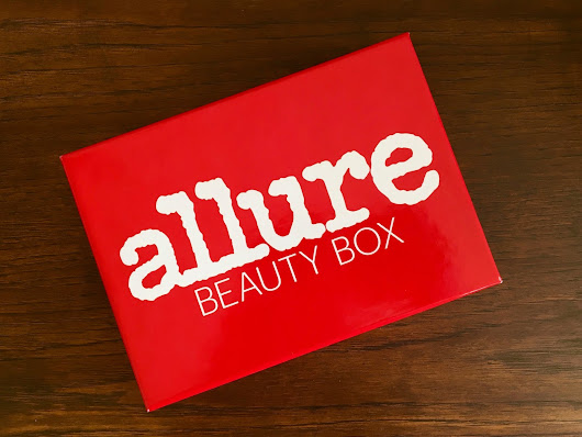 Evoking You!: Allure October 2017 Beauty Box