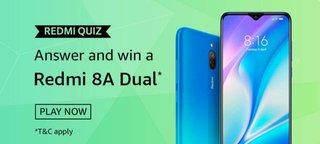 Amazon 8A Dual Quiz