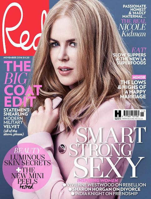 Actress, @ Nicole Kidman - Red Magazine November 2016