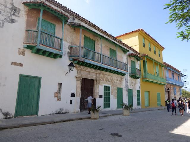 Houses in Havana, Cuba