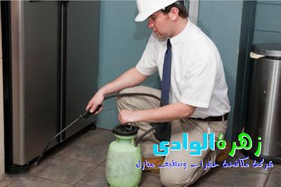 شركة زهرة الوادى - شركة تنظيف ومكافحة حشرات بحائل - المملكة العربية السعودية