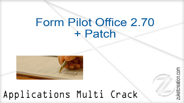 Form Pilot Office 2.70 + Patch  |  71.6 MB