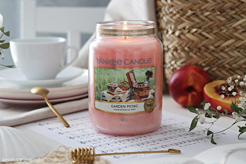 yankee candle garden picnic recenzja na blogu