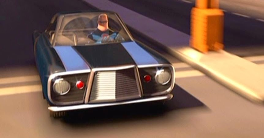 Just A Car Guy vehicles in the Pixar movie The Incredibles