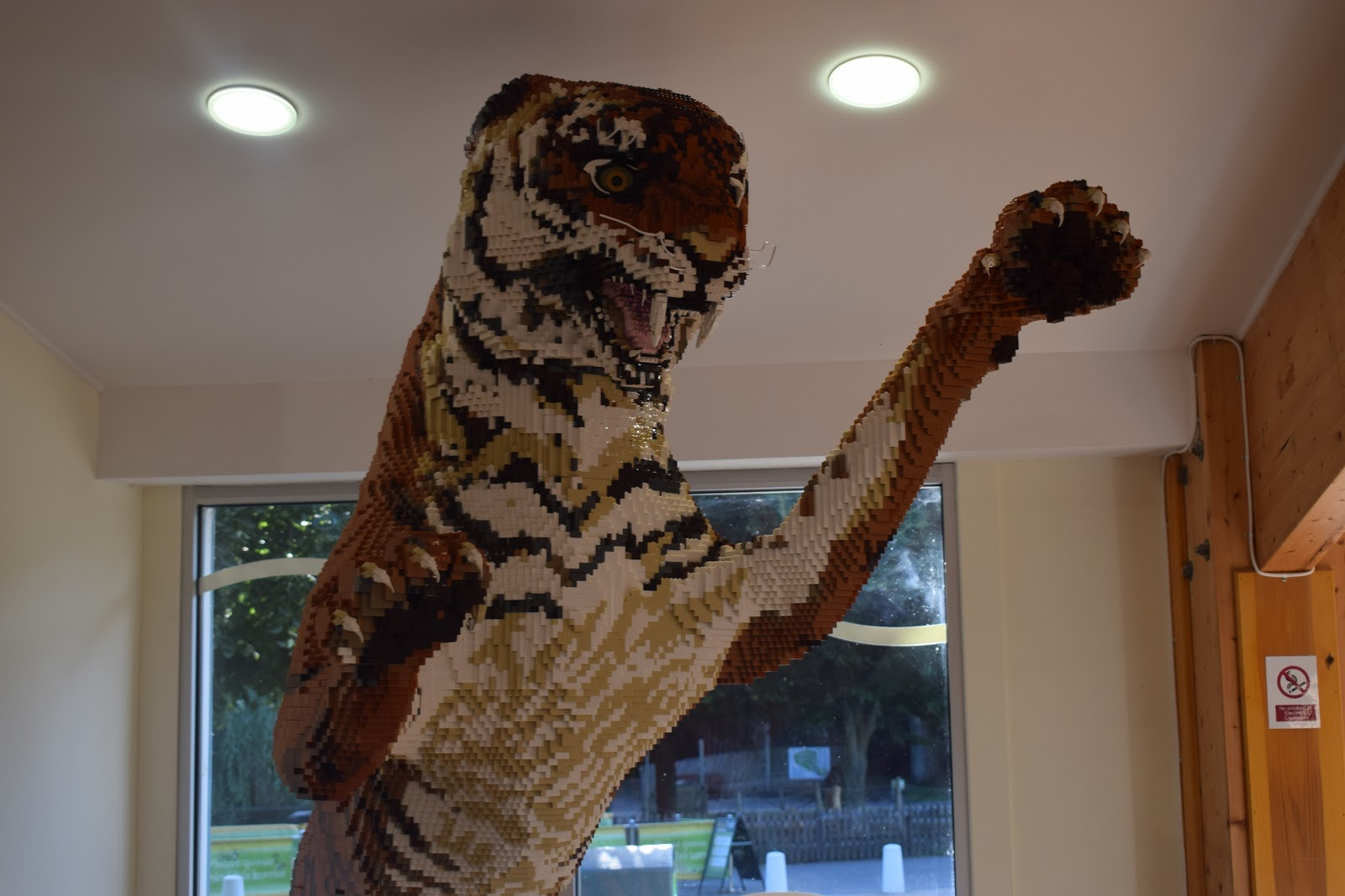 Marwell Zoo - The Great Brick Safari - Lego - Zoo day out   Mummy