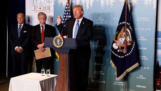 """Trump: """"Sería bueno para el mundo que Rusia volviera al G8"""""""