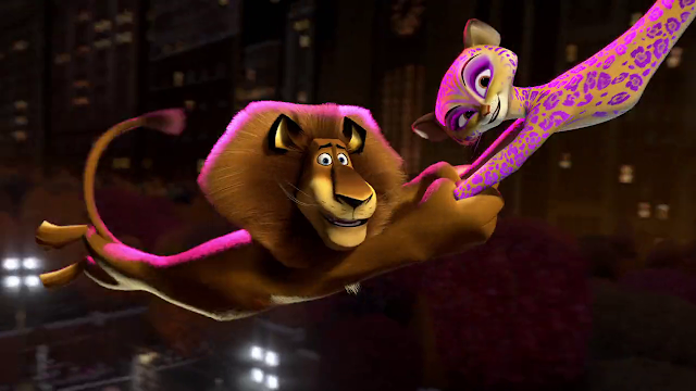 Madagascar 3: Europe's Most Wanted (2012) Dual Audio [Hindi-DD5.1] 720p BluRay ESubs Download