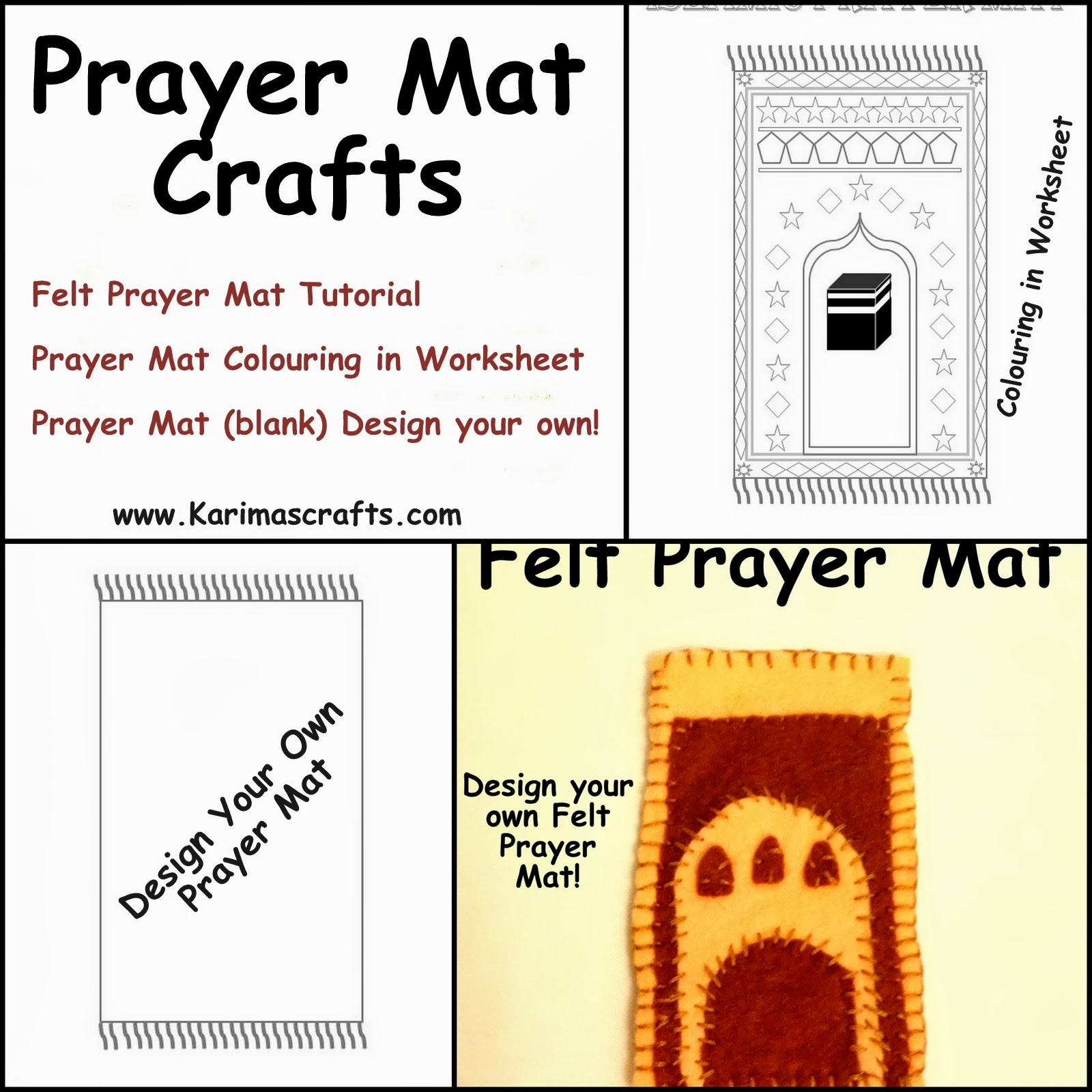 Karima S Crafts Prayer Mat Crafts