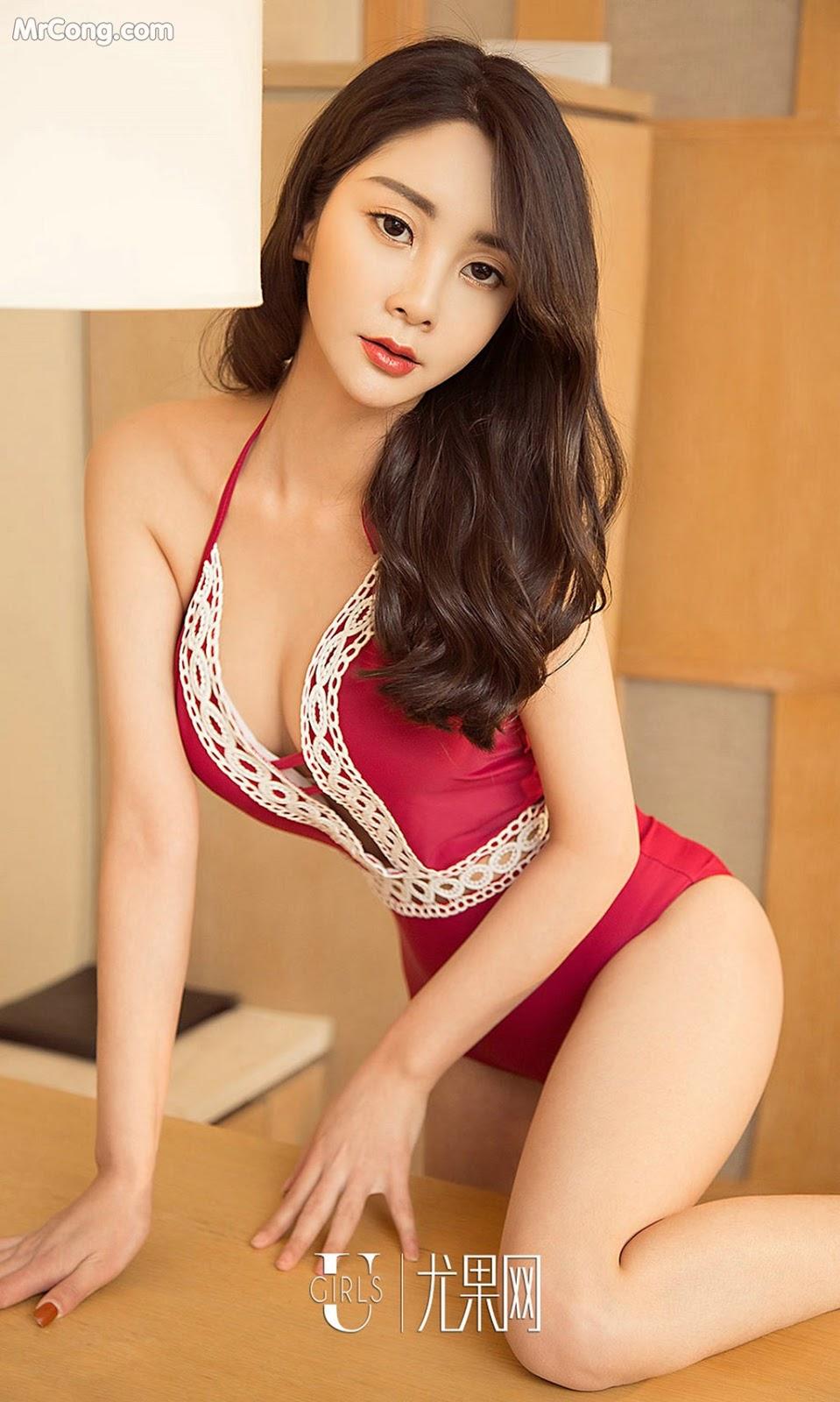Image UGIRLS-Ai-You-Wu-App-No.1389-Lucy-MrCong.com-006 in post UGIRLS – Ai You Wu App No.1389: Người mẫu Lucy (35 ảnh)