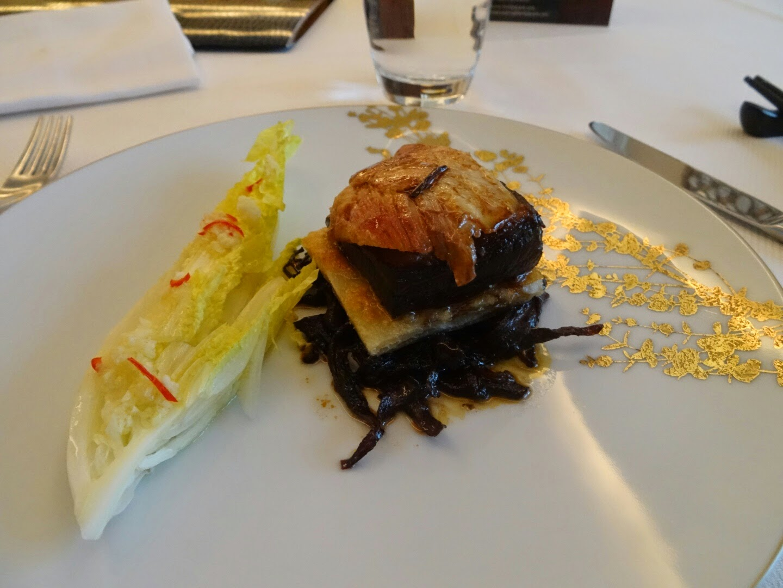 3 plat restaurant Family Li Impérial Cuisine Paris 8 ème.