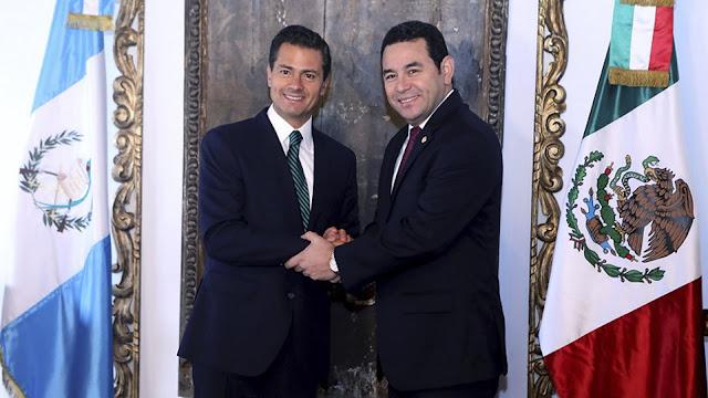 Guatemala nombra a Enrique Peña Nieto Embajador de la Paz pero en México no para la violencia