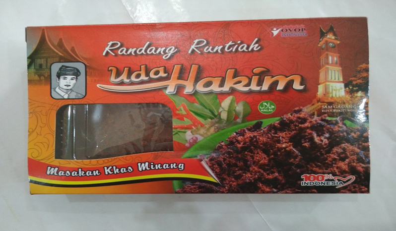 Rendang Daging Suwir Uda Hakim