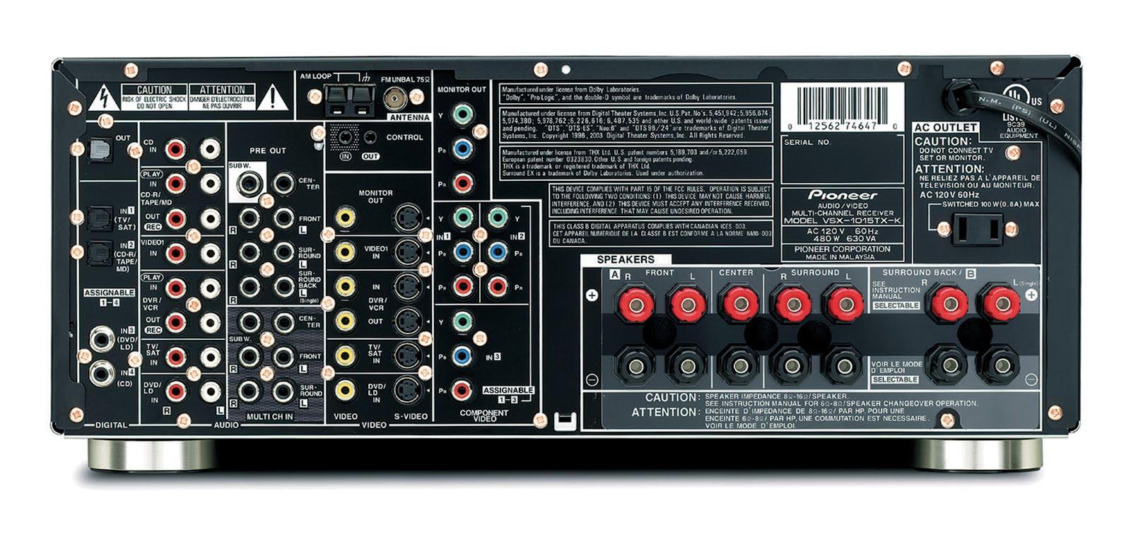 Pioneer Vsx-1015-s Service Manual