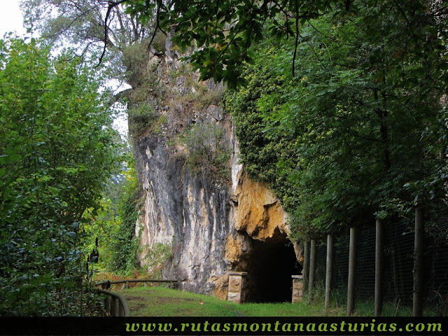 Ruta de Priañes: Túnel