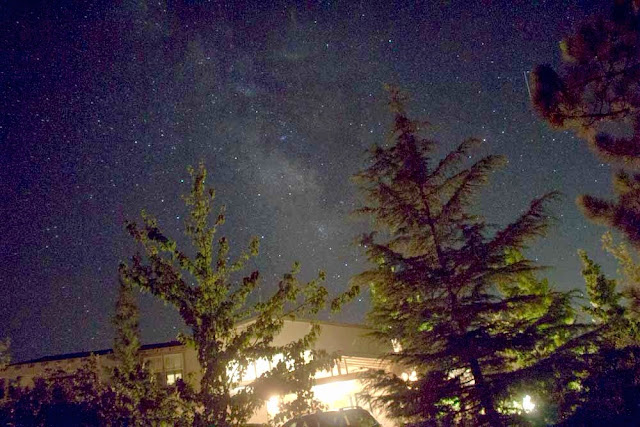 Great view of Milky Way from Orchard Hill B&B in Julian (Source: Palmia Observatory)