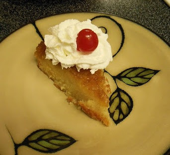 Pineapple Upside Down Cake, an old fashioned favorite.