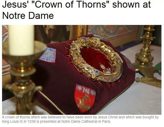 LIB'S LABYRINTH: Holy Week Jesus Crown of Thorns 2014