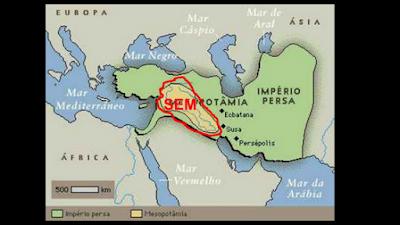 Os descendentes de sete (mapa)