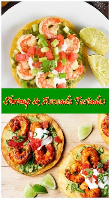 Shrimp & Avocado Tostadas