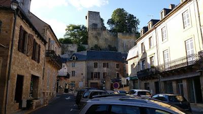 Restes del castell de Montignac