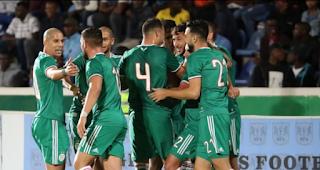 ملخص واهداف مباراة الجزائر وبتسوانا (5-0) تصفيات كاس امم افريقيا