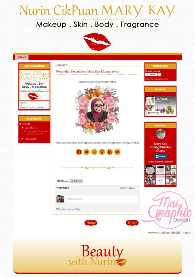 template blog bisnes