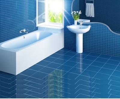 Ordinaire Latest Blue Bathroom Decor Ideas Tiles Furniture Accessories 2019 Designs