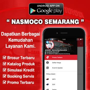 Aplikasi Android Dealer Mobil Nasmoco Toyota Gombel Semarang Pati Kudus Purwodadi Salatiga Kendal Jepara Ungaran