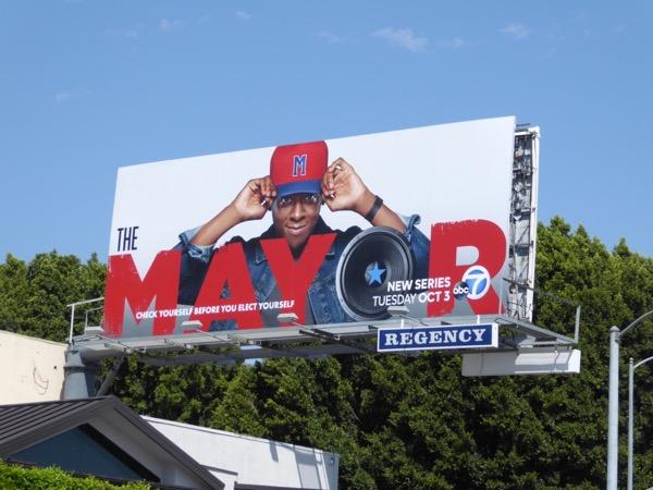 Mayor series premiere billboard