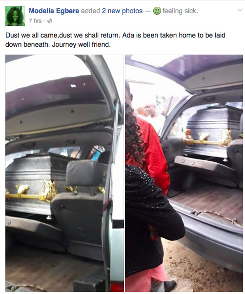 A Source Who Is Close Friend To Adaeze And Her Family Said Ada Went Party On Sunday Evening Came Back Late That Same Night Alighting From