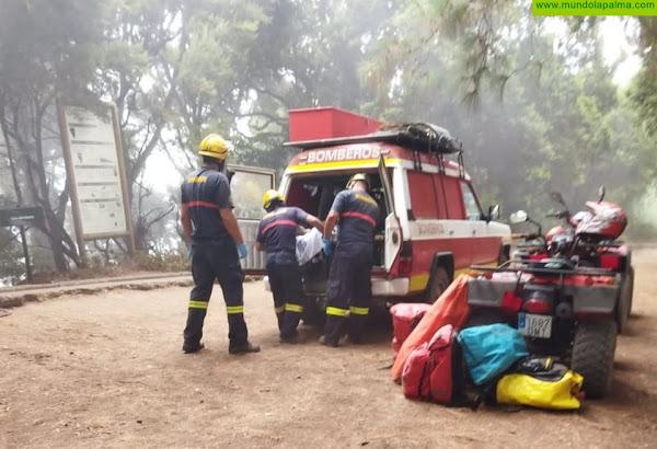 Rescatada una senderista en Marcos y Cordero con vómitos y dolor de estómago