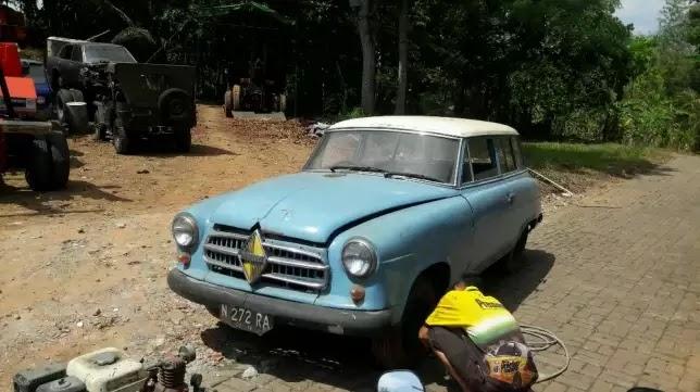 Jual Mobil Antik Borgward Tahun 1958