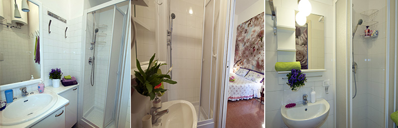 bed and breakfast bagno in camera