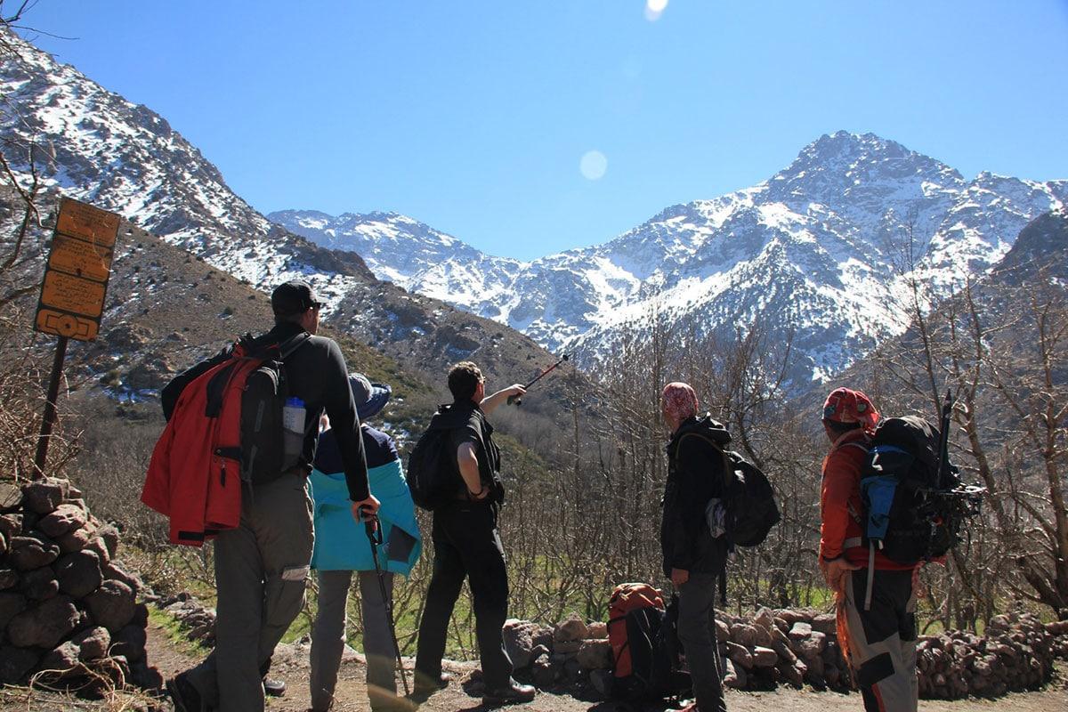 Сборы и погода на горе Тубкаль в Марокко