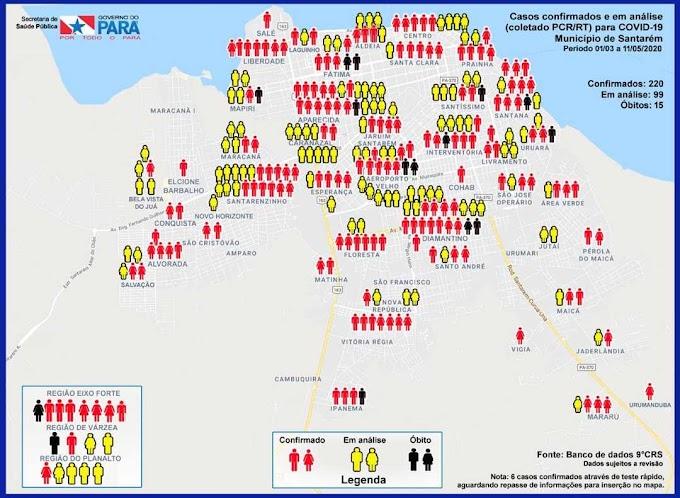 Mapeamento de casos solicitado por promotoria auxilia no acompanhamento da covid-19