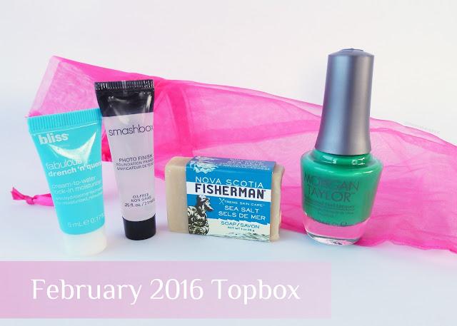 February 2016 Topbox