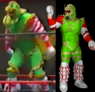 Fire Pro EDITs by Lord Worm: Christmas Creature (Kane) - USWA - 1992