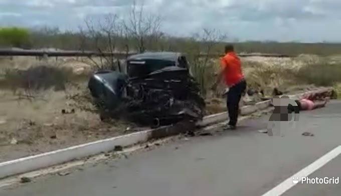 Acidente gravíssimo na BR 304 entre Angicos e Fernando Pedroza