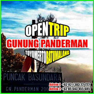 Open Trip Gunung Panderman 2021 Via Toyomerto Batu Malang 2H1M