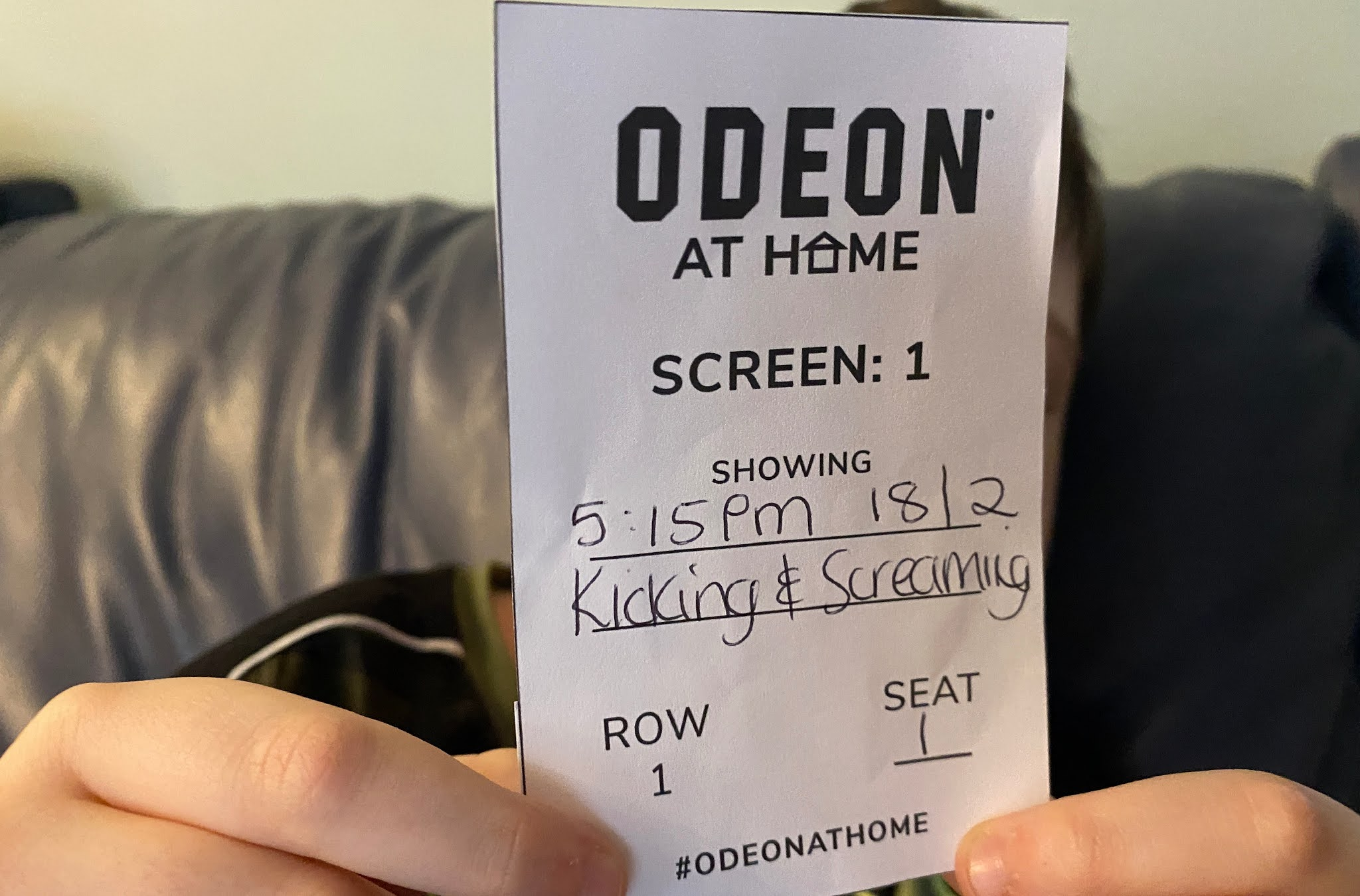 Odeon at home ticket