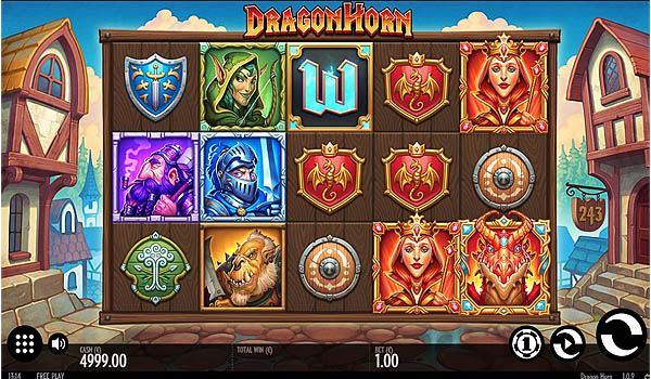 Main Gratis Slot Indonesia - Dragon Horn (Thunderkick)