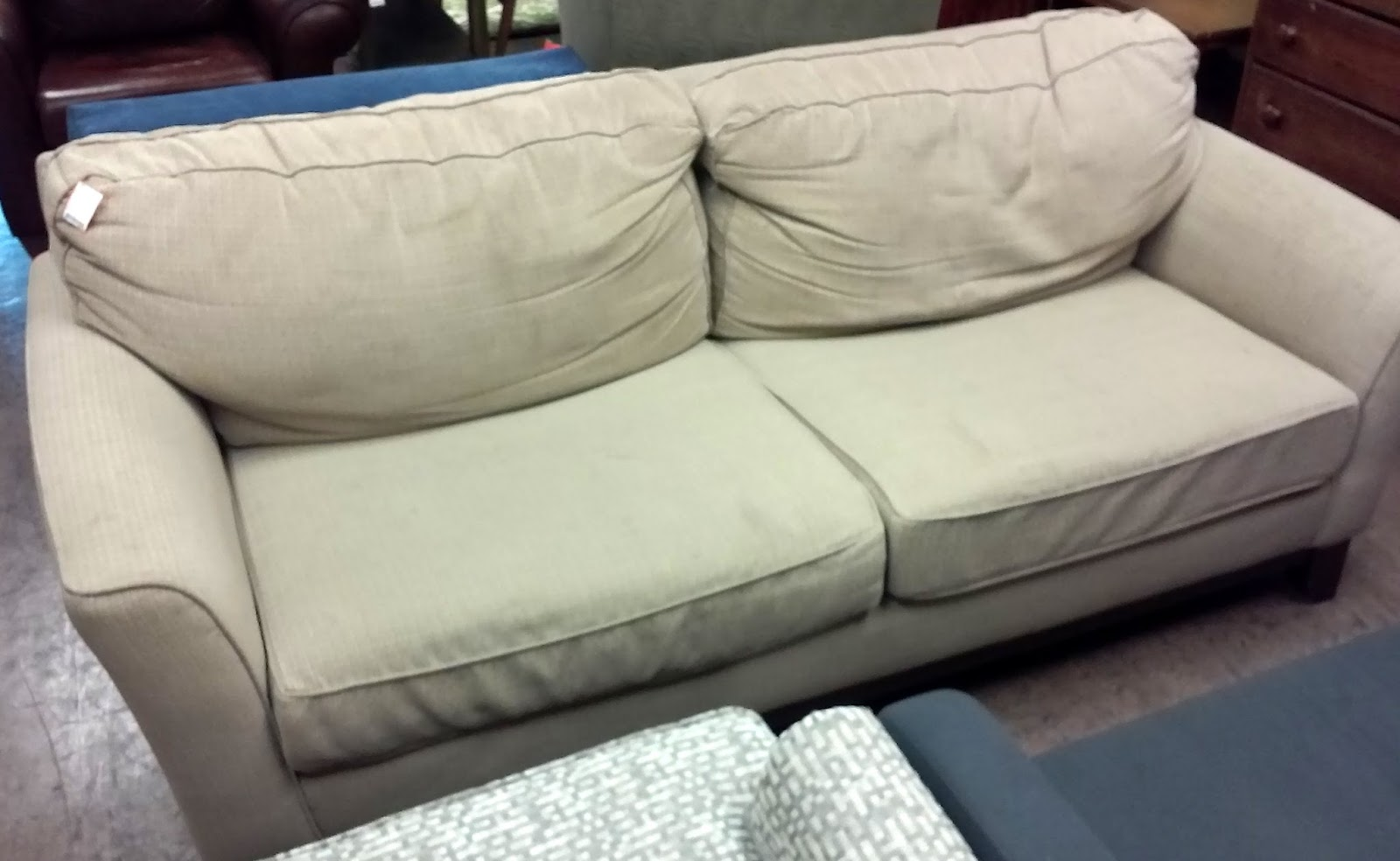 Sold Clearance 8027 Sklar Peppler 7 Sofa Was 50 Now 35