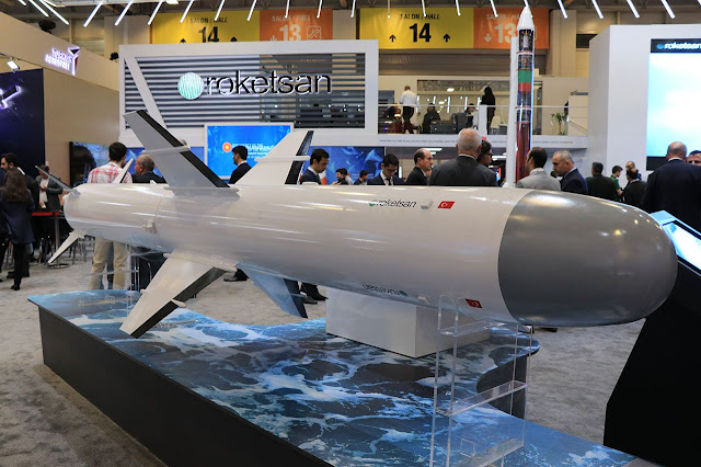 ATMACA Turkish anti-ship missile atmaca füzesi
