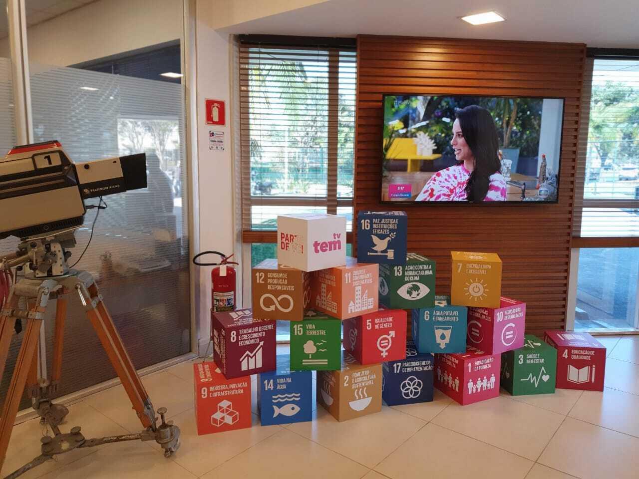 TV TEM passa a integrar a maior iniciativa voluntária de cidadania corporativa do mundo